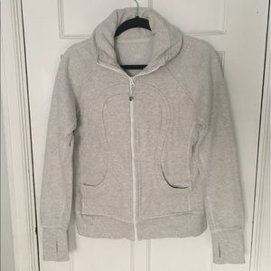 Lululemon zip up sweatshirt SIZE: 8 (fits small)